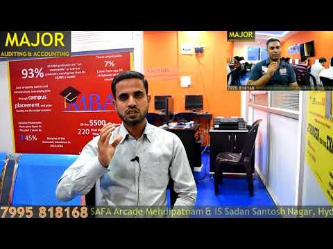 Major Accounting - Mr. Haleem 5+ years experienced Accountant Review After Course Completion