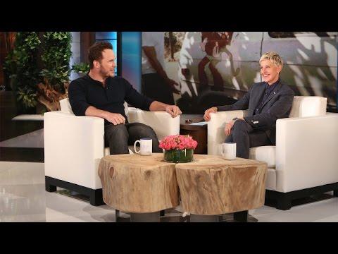 Ellen's Hot Guys: Chris Pratt Remembers Living in a Van