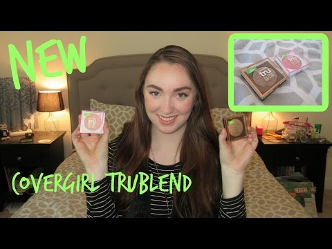 Covergirl TruBlend Bronzer and Blush - First Impressions Review + Demo