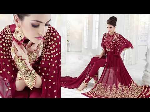 Designer Dresses: Latest Indo Western Suits & Indian Long Party Wear Dresses For Women Online Sale