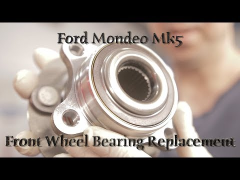 Ford Mondeo Mk5 Front Wheel Bearing Replacement