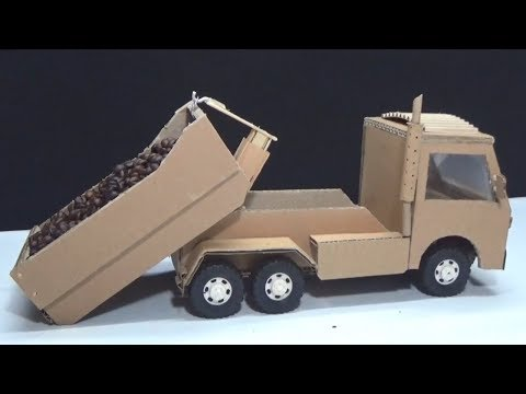 Amazing DIY Remote Control Hook Lift Truck - How to make a HookLift truck at home