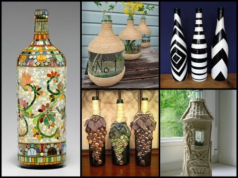50+ Beautiful Bottle Decorating Ideas – DIY Recycled Room Decor