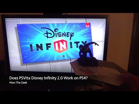 Does PSVita Disney Infinity 2.0 Work on PS4? (Read Update)
