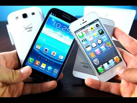 iPhone 5 VS Samsung Galaxy S3 In Depth Comparison Review