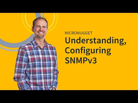 Understanding and Configuring SNMPv3