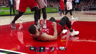 3rd Quarter, One Box Video: Portland Trail Blazers vs. Toronto Raptors