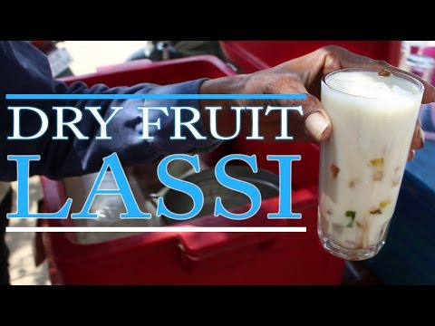 Making Dry Fruit Lassi (ड्राय फ्रूट लस्सी) | THE BEST DRINK IN SUMMER | Street Food In India