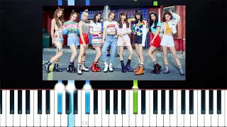 NiziU - Make you happy (Piano Tutorial)