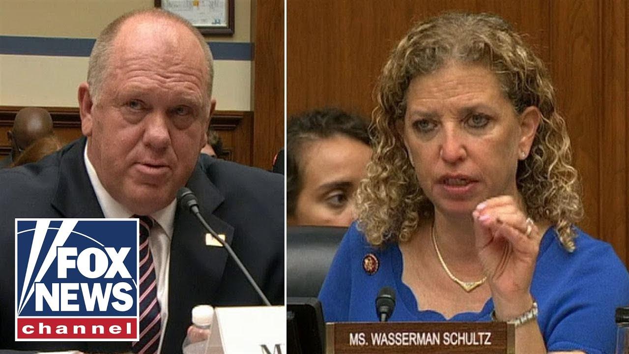 Ex-ICE director shoots down House Democrat in heated exchange