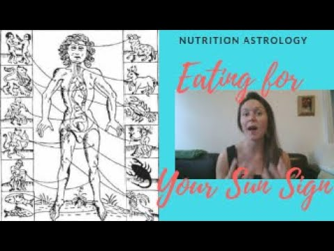 NUTRITION ASTROLOGY - Eating for your Sun Sign