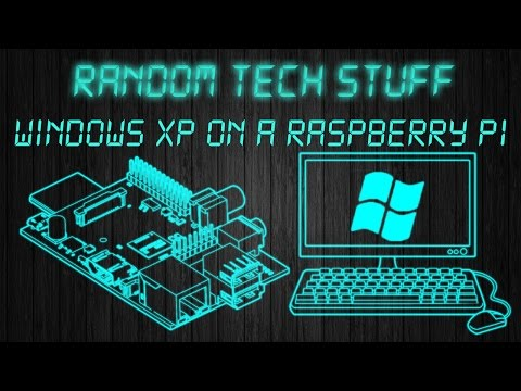 HOW TO run WINDOWS xp and older on a RASPBERRY PI