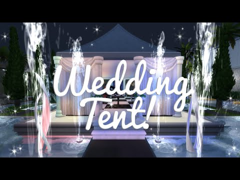 The Sims 4 Speed Build — Wedding Tent