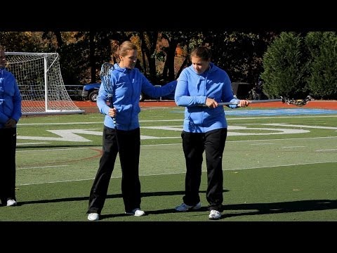 How to Throw a Pass | Women's Lacrosse