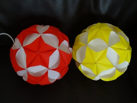 Part I : How to make paper star ball