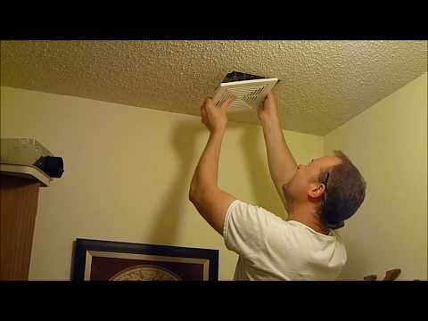 Changing Out A Bathroom Vent Fan