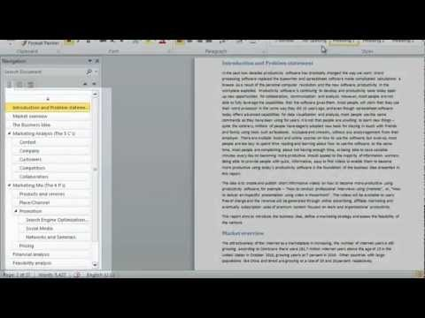 How to start each chapter on a new page using Microsoft Word