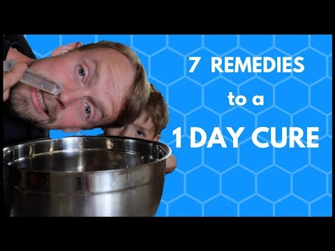 Cure A Sinus Infection FAST - 7 Natural Home Remedies