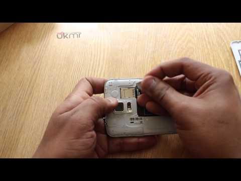 Samsung Galaxy S5 - How to Insert SIM card