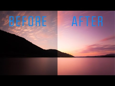 How to Rescue an Underexposed Image - Lightroom Tutorial