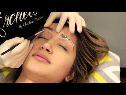 SEMI PERMANENT EYEBROWS LOOK NATURAL:USING MICROBLADING