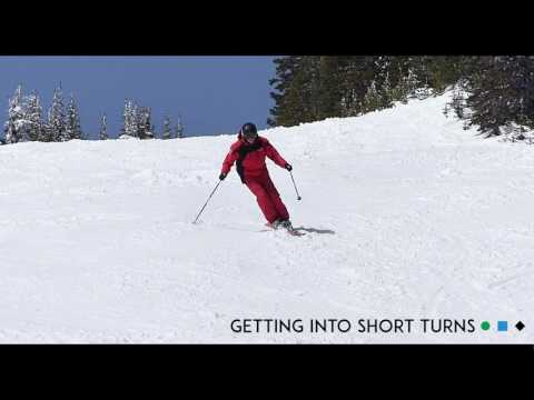 Ski Tips   How to Get Into Short Turns