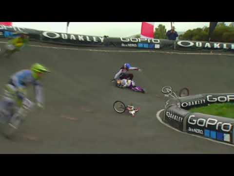 BMX Racing Crashes