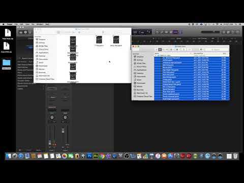 How to import Sound Libraries into Logic Pro X