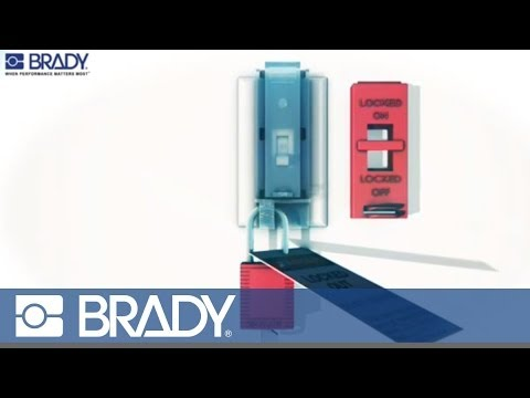 Brady Lockout Tagout Device Movie: Wall switch lockout