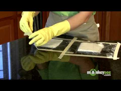 Removing Stains from Granite Countertops