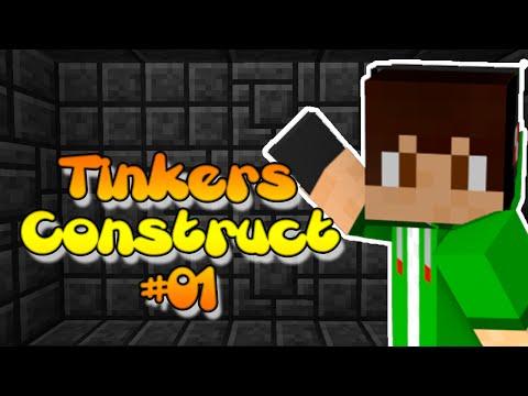 Como fazer Mesas e Ferramentas | Tinkers Construct
