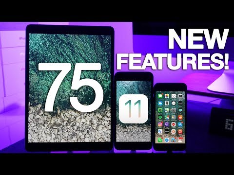 iOS 11 Top 75 Features & Changes!