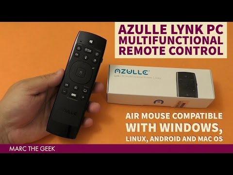 Azulle LYNK PC Multifunctional Remote Control for Windows, Linux, Android and Mac OS