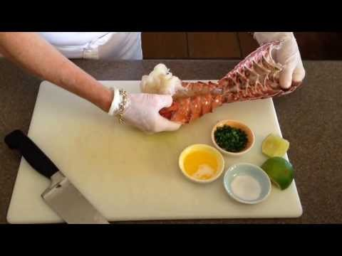 Lobster Tail Preparation