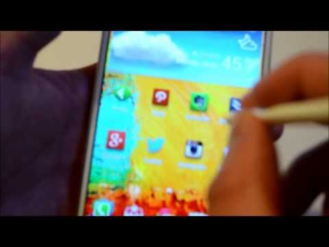 How To Take A Screenshot on the Galaxy Note 3