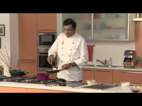 Sunheri Gulab-e-Gulkand with Rose Scented Sauce - Festive Recipe by Chef Sanjeev Kapoor
