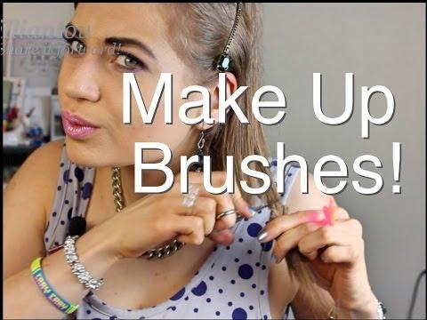 DIY: MAKE UP BRUSHES!