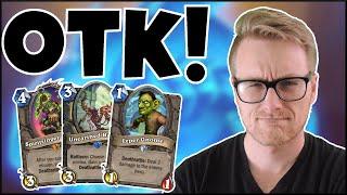 Hearthstone | Icky OTK! | Wild Deathrattle Leper Gnome OTK Rogue | Rise of Shadows