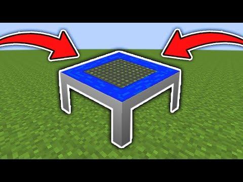 Minecraft : How To Make A Working Trampoline (Ps3/Xbox360/PS4/XboxOne/WiiU)