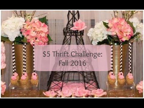 $5 Thrift Challenge: Fall 2016