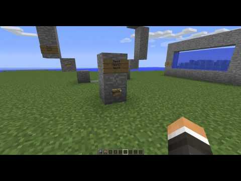 Pl3xGates v1.4 - Remote Control Signs and Buttons
