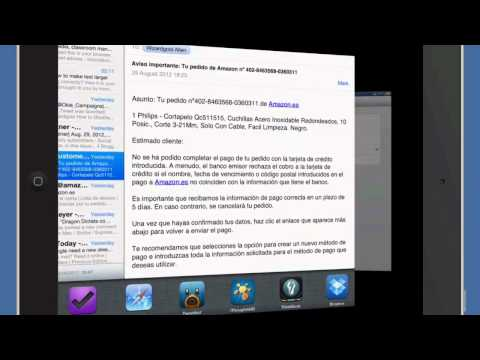 Amazing iPad Tips 4 - Text Size in Mail