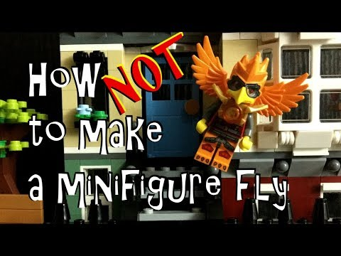 How NOT to make a Lego man fly