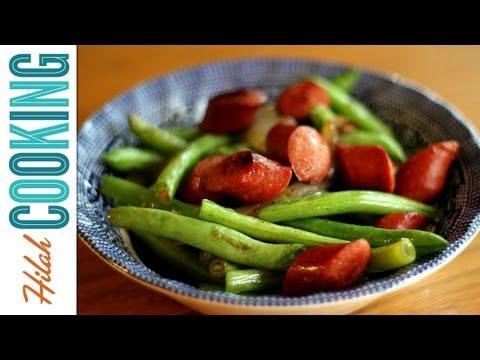 How to Make Hot Dog Stir Fry | Hilah Cooking