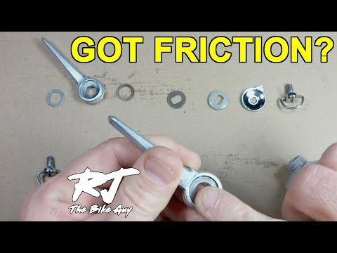 Friction Shifters Maintenance - Disassemble, Clean & Lube