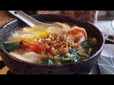 How to make Singapore Mee Hoon Kway 面粉粿 Pan Mee 板面 Ban mian