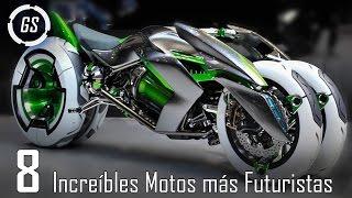 Top 8 Increíbles Motos Más Avanzadas Del Mundo || Motos del Futuro