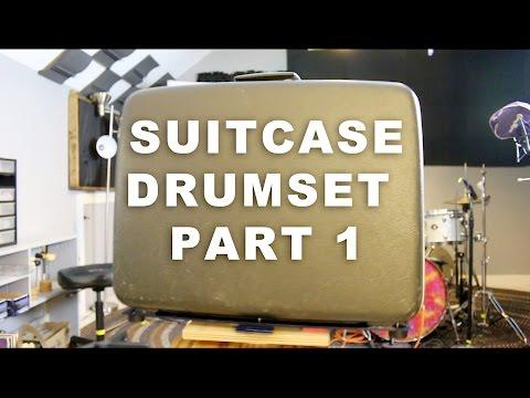 Suitcase Drum Set: The Suitcase