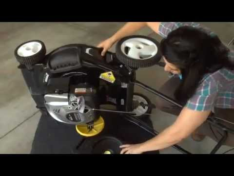 How to change your Briggs & Stratton's engine oil