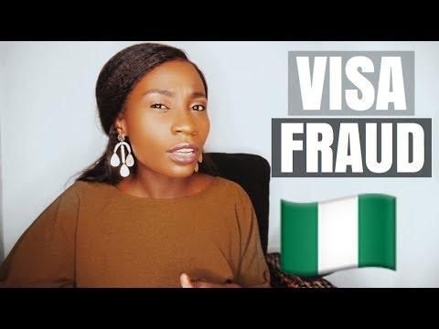 VISA FRAUD IN LAGOS, NIGERIA in 2018 #SHOCKING!! | Sassy Funke